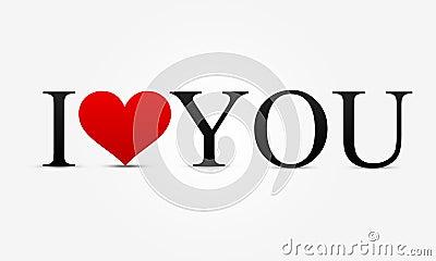 Kocham ciebie