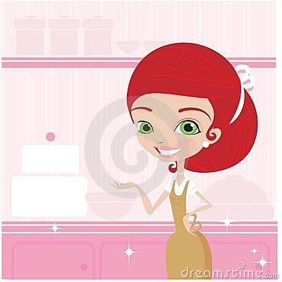 Kochen der jungen Frauen