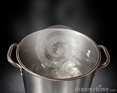 Kochendes wasser lizenzfreies stockbild bild 28245006 - Warmflasche kochendes wasser ...