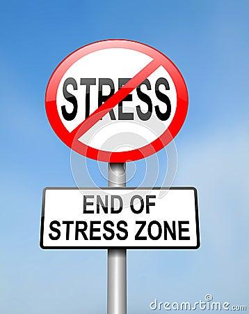 Końcówka stres