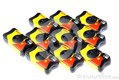 Kodak disposable camera Editorial Stock Image