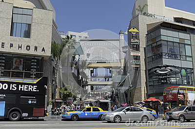 Kodak theater in California Editorial Photography
