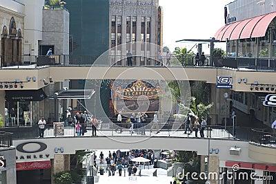 Kodak theater in California Editorial Image