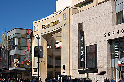 Kodak Theatre Editorial Photography