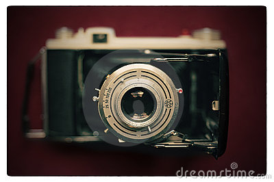 Kodak Vintage Camera Editorial Stock Image
