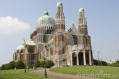 Koekelberg basilica in Brussels