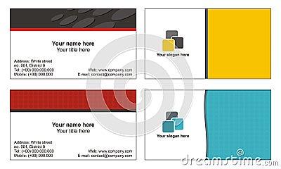 Koele adreskaartjesmalplaatjes