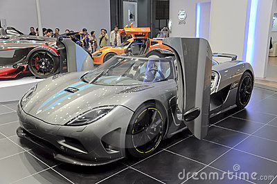 Koenigsegg AGERA Editorial Stock Photo