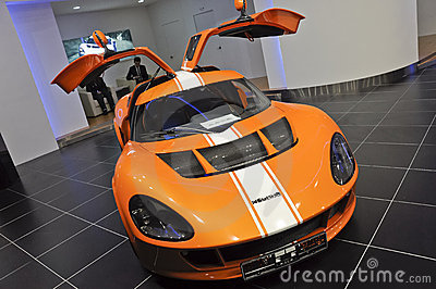 Koenigsegg Melkus RS2000 Foto de Stock Editorial