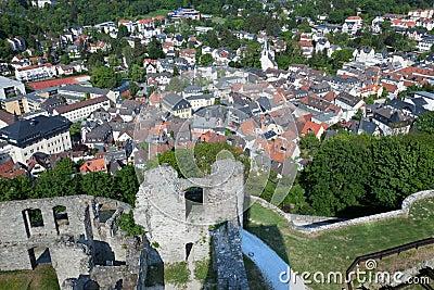 Koenigstein Altstadt and Castle