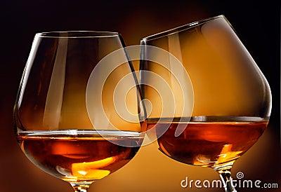 Kognak oder Weinbrand