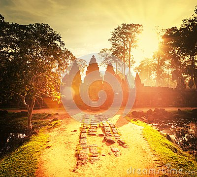 Free Koh Ker Royalty Free Stock Photography - 54176347