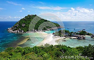 Koh Nang yuan Island,Surat,Thailand