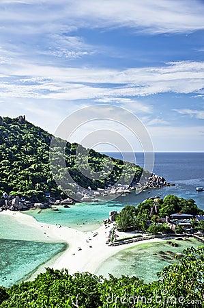 Free Koh Nangyuan Island Viewpoint Stock Photos - 20051153