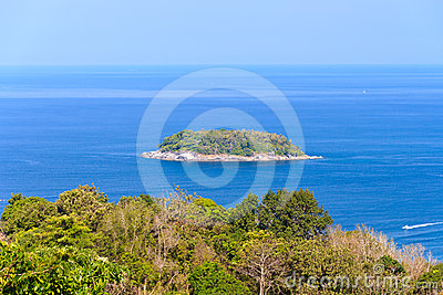 Koh Pu island from Karon View Point Phuket