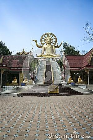 Big buddha temple koh samui thailand Editorial Photography
