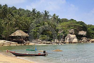 Koh tao beach resort thailand