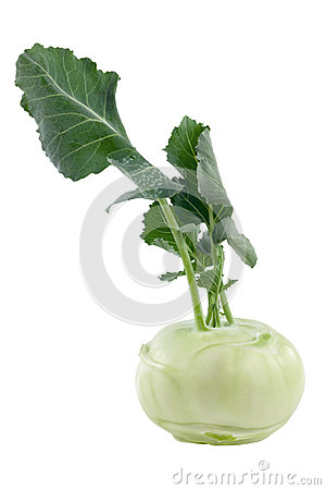 Kohlrabi; Clipping path