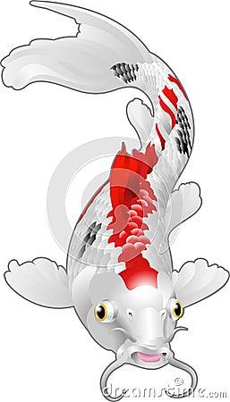 Koi oriental de poissons de carpe photographie stock for Achat carpe koi