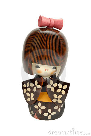 Free Kokeshi Doll Stock Images - 3783324