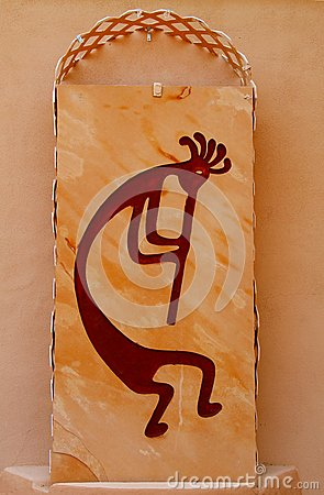 USA, Arizona: Kokopelli Relief