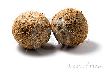 Kokosnötter isolerade två