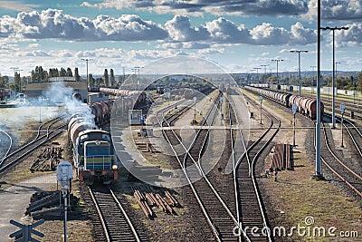Kolejowy transport