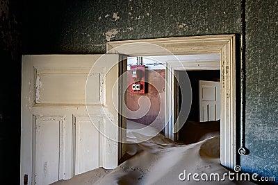Kolmanskop sand house