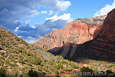 Kolob Canyons View