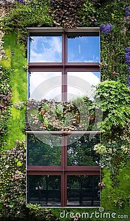 Ökologisches Gebäude
