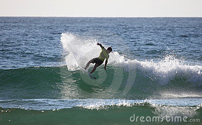 Kolohe Andino Professional surfer Editorial Stock Image