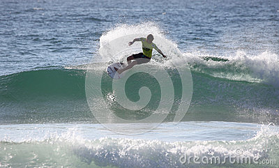 Kolohe Andino Surfing Manly Beach Editorial Image