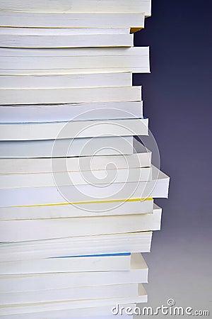 Kolom van boeken