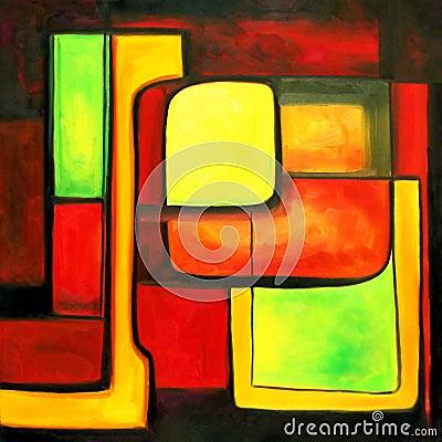 Kolor zsynchronizowane nowoczesnego
