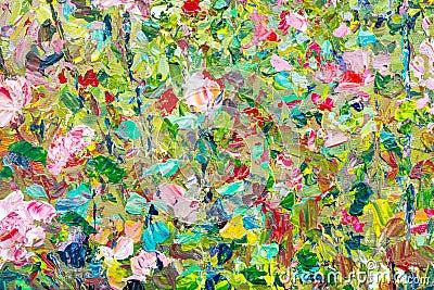 Kolorowa abstrakcjonistyczna tło tekstura