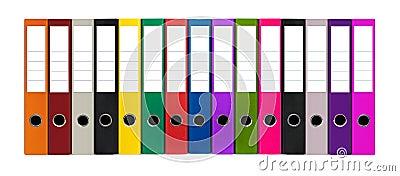 Kolorowe kartoteki