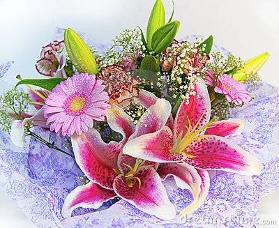 Kolorowi bukietów kwiaty