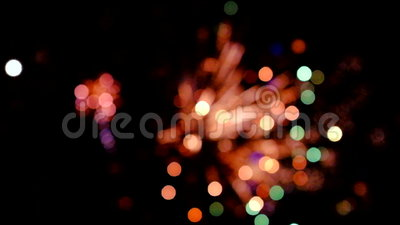 Kolorowi fajerwerki