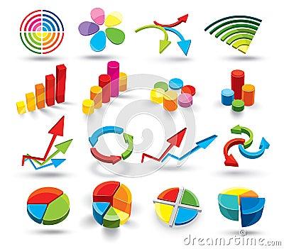 Kolorowi wykresy