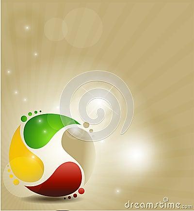 Kolorowy symbol
