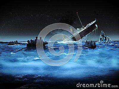 Kolossale schipbreukeling