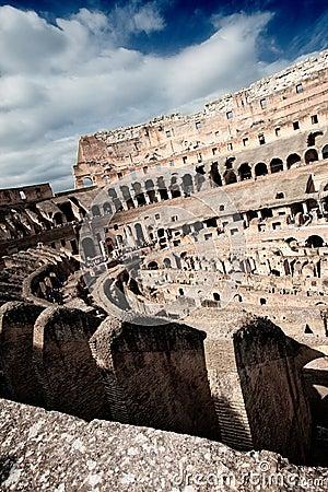 Kolosseum vom Innere