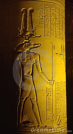 Free Kom Ombo By Night Royalty Free Stock Image - 5606666