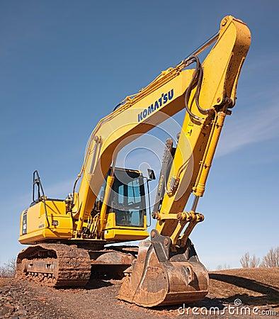Free Komatsu Excavator Royalty Free Stock Image - 76305646