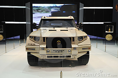 Kombat suv Editorial Stock Photo