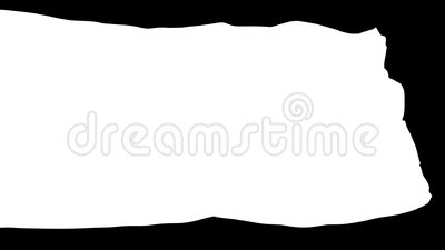 Kombiniert von der keltischen Nations-Flagge, lokalisiert auf weißer nahtloser Schleife lizenzfreie abbildung
