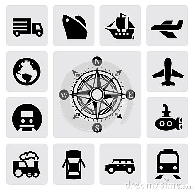 Kompas i transport