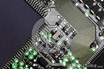 Komputerowego obwodu deska