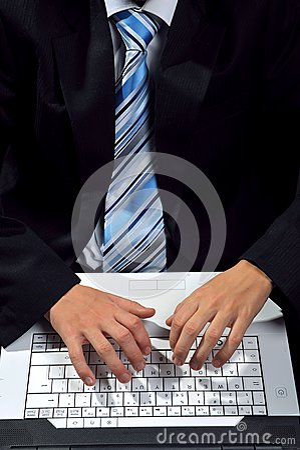 Komputerowy pisać na maszynie