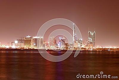 Komunalne pejzaż Manama
